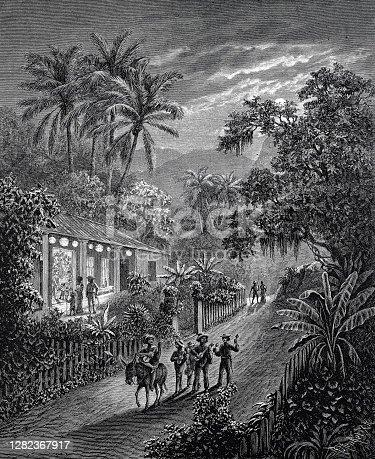 Fiesta de Navidad en el valle de San Esteban