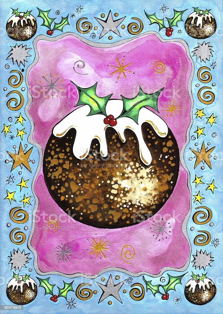 Christmas Pudding royalty-free christmas pudding stock vector art & more images of cake