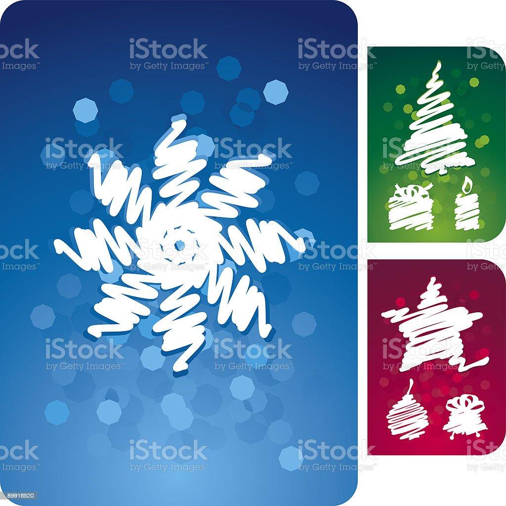set di sfondo di Natale luminoso set di sfondo di natale luminoso - immagini vettoriali stock e altre immagini di a forma di stella royalty-free