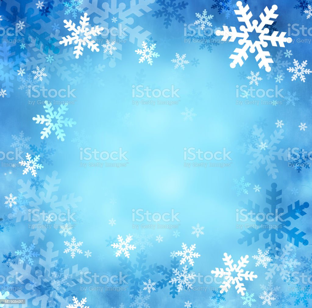 Christmas snowflakes royalty-free stock vector art
