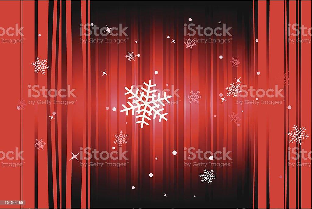 Christmas snowflakes royalty-free stock vector art