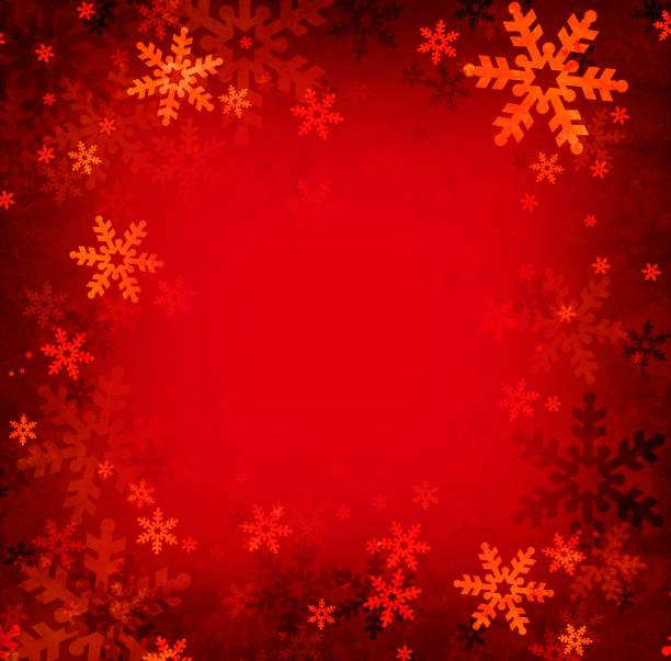 Christmas snowflakes vector art illustration