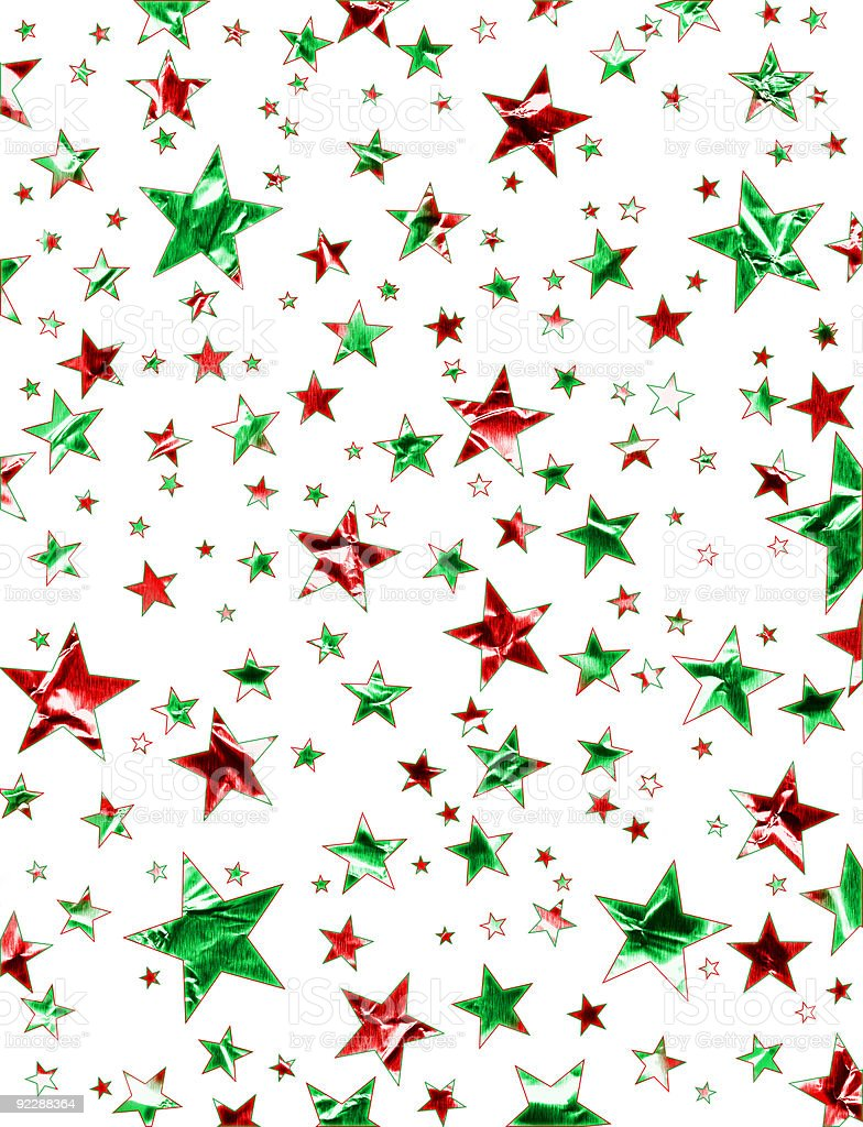Christmas Star Field royalty-free stock vector art
