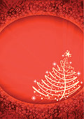 """""""Abstract christmas tree background. All elements can be easily removed if needed. Zip contains editable version (AI CS2), TIFF (5262 x 3721 px, RGB)."""""""