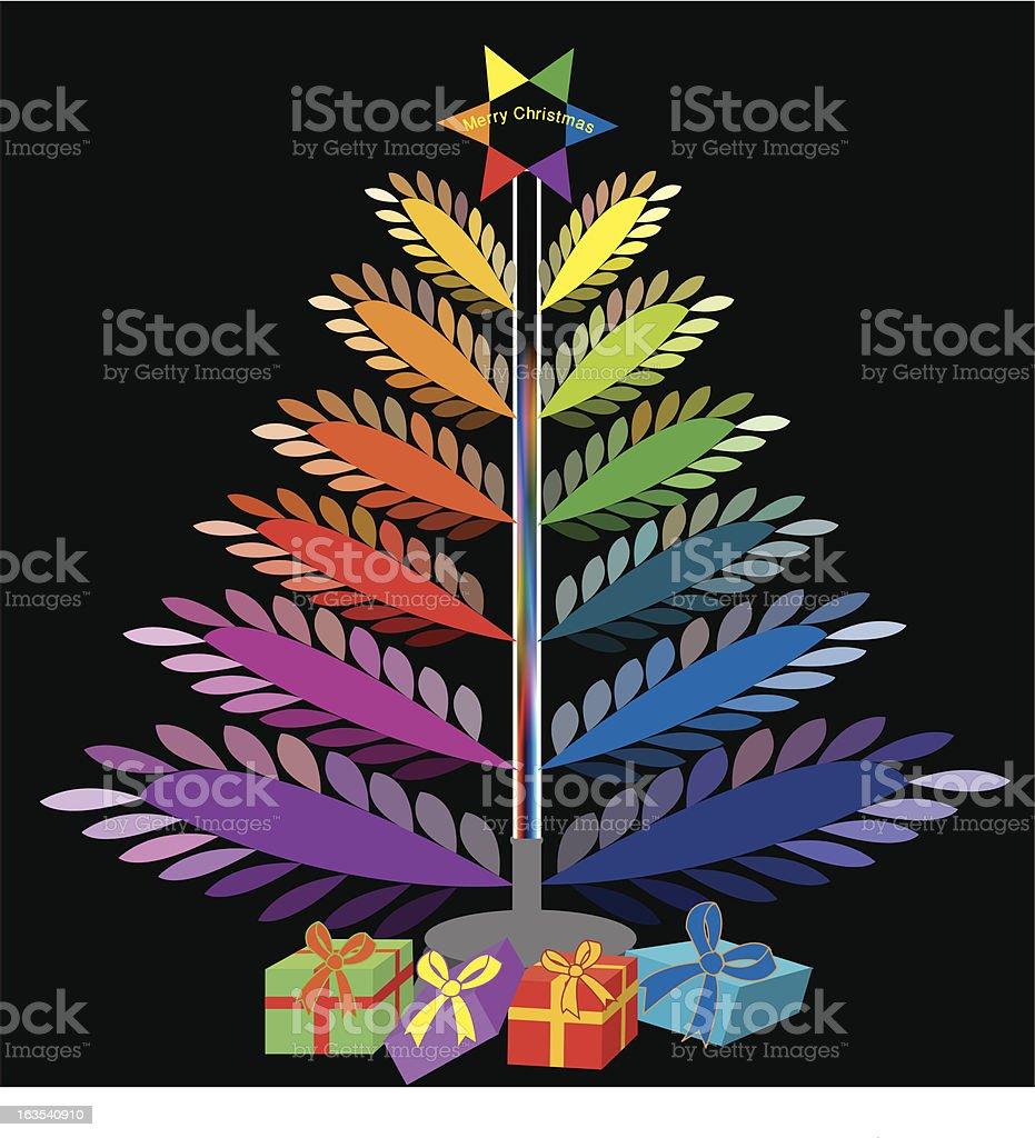 Color Wheel For Christmas Tree.Christmas Tree Color Wheel Stock Illustration Download