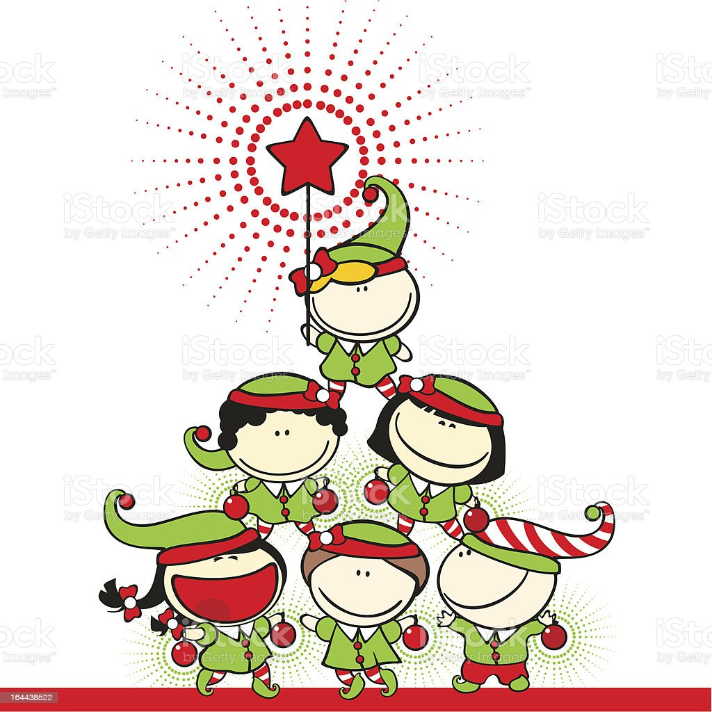 Christmas tree royalty-free christmas tree stock vector art & more images of adult