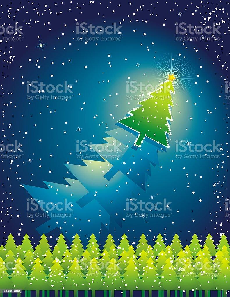 Boże Narodzenie Drzewo, grafika wektorowa boże narodzenie drzewo grafika wektorowa - stockowe grafiki wektorowe i więcej obrazów abstrakcja royalty-free