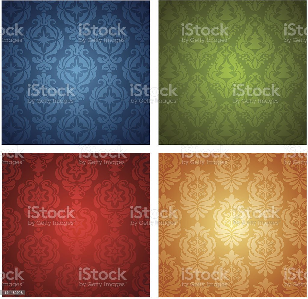 Christmas wallpaper. royalty-free stock vector art