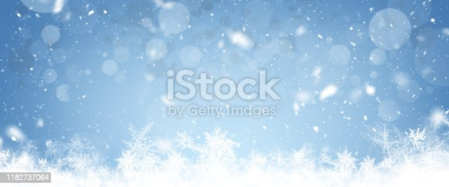 istock Christmas Wide Background 1182737064