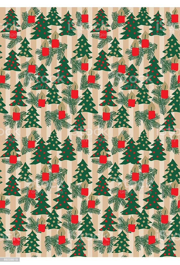 Ilustración de Envoltura De Navidad De Papel y más banco de imágenes ...