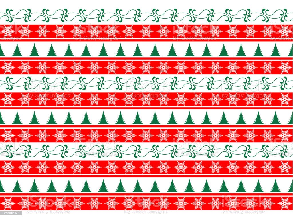 Christmas  Wrapping Paper royalty-free christmas wrapping paper stock vector art & more images of abstract