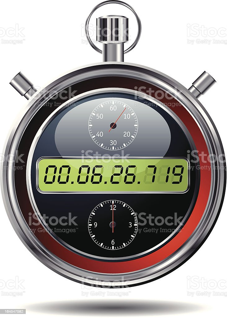 chronometer royalty-free stock vector art