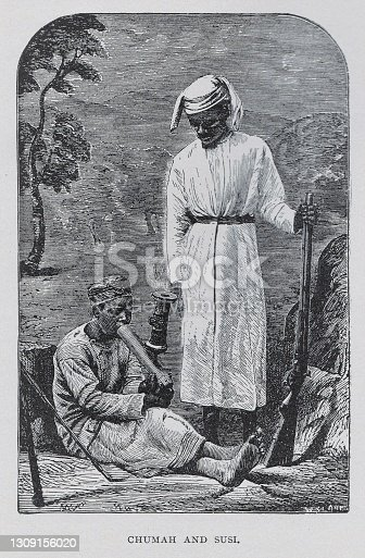 istock Chumah and Susi in 19th Century Africa 1309156020