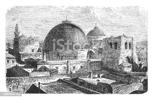 illustration of Church of the Holy Sepulchre , Jerusalem
