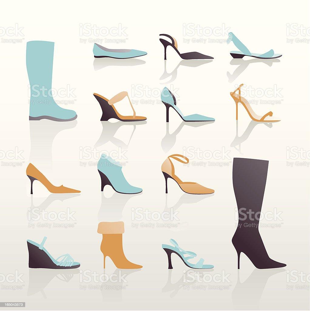 Cinderella blues royalty-free stock vector art