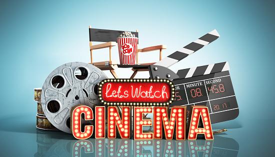 cinema had light concept nave lets watch cinema