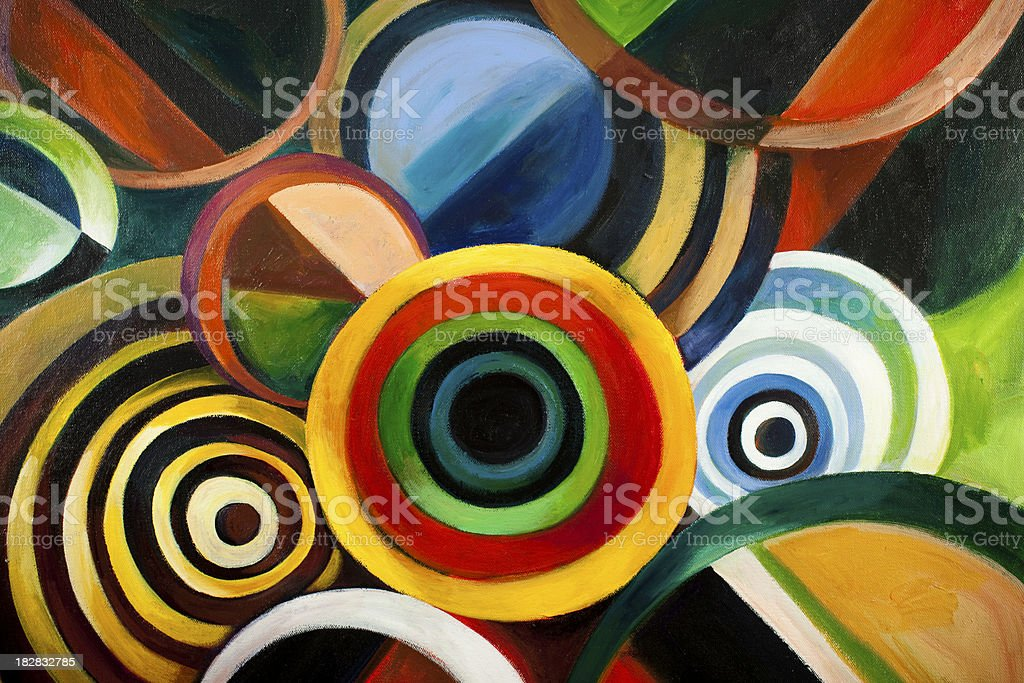 Circle Backgrounds royalty-free stock vector art