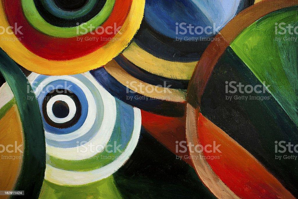 Circle Backgrounds XXXL royalty-free stock vector art