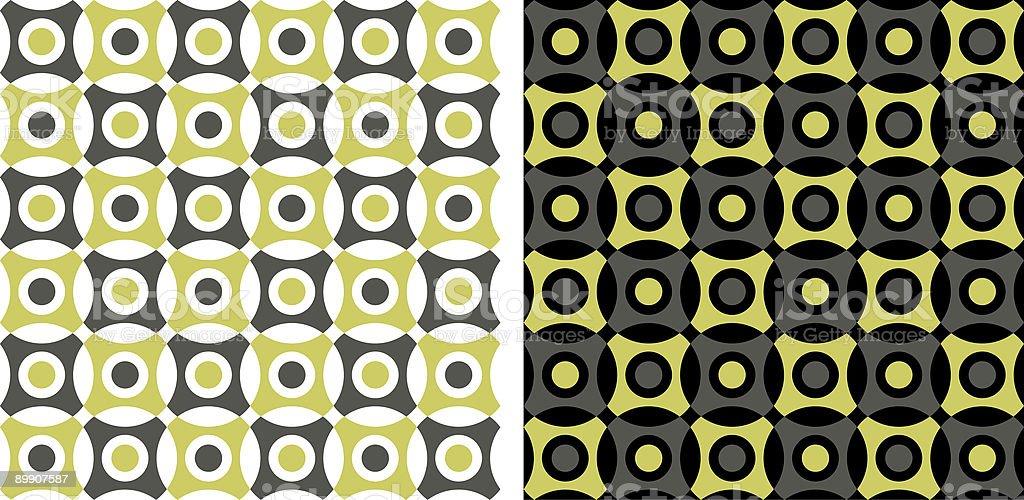 Circle wallpaper (seamless) royalty-free circle wallpaper stok vektör sanatı & 1970-1979'nin daha fazla görseli