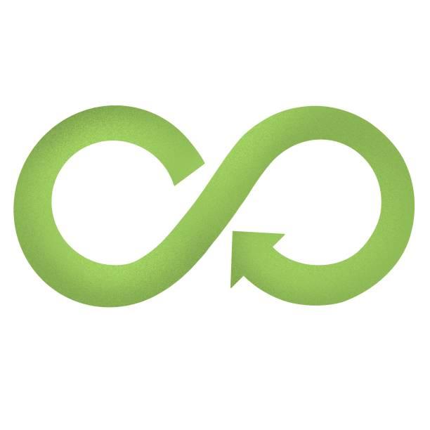 ilustrações de stock, clip art, desenhos animados e ícones de circular economy symbol. sustainable development - economia circular
