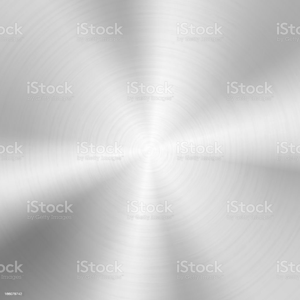 Circular metal texture vector art illustration