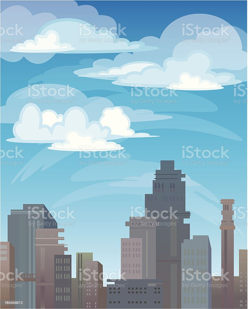 City royalty-free city stock vector art & more images of above