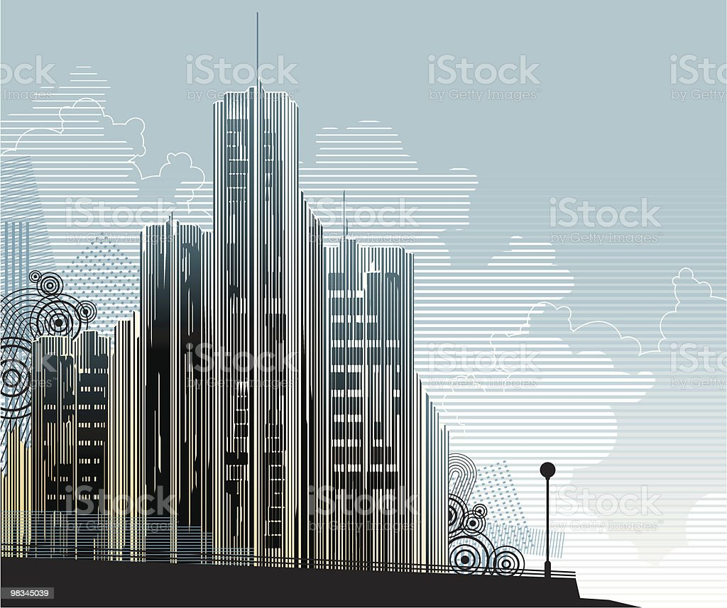 Cityscape royalty-free cityscape stock vector art & more images of abstract
