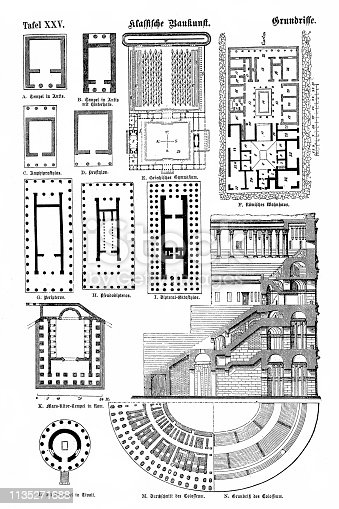 Illustration of a Classic architecture