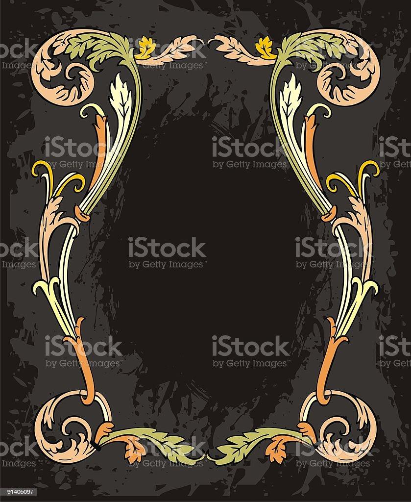 classic vector frame royalty-free stock vector art