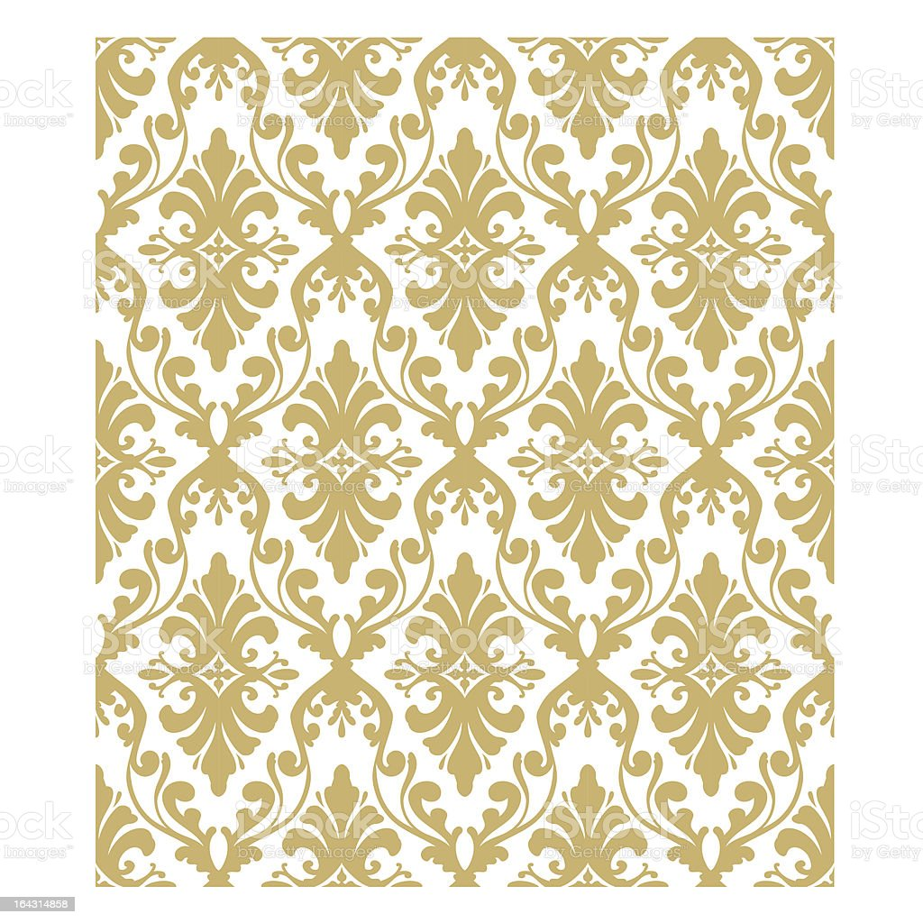 Classic wallpaper pattern royalty-free stock vector art