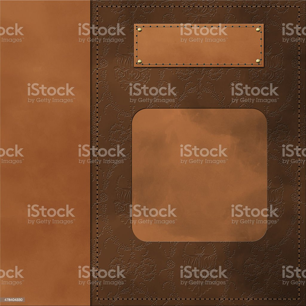 Classical book cover vector art illustration