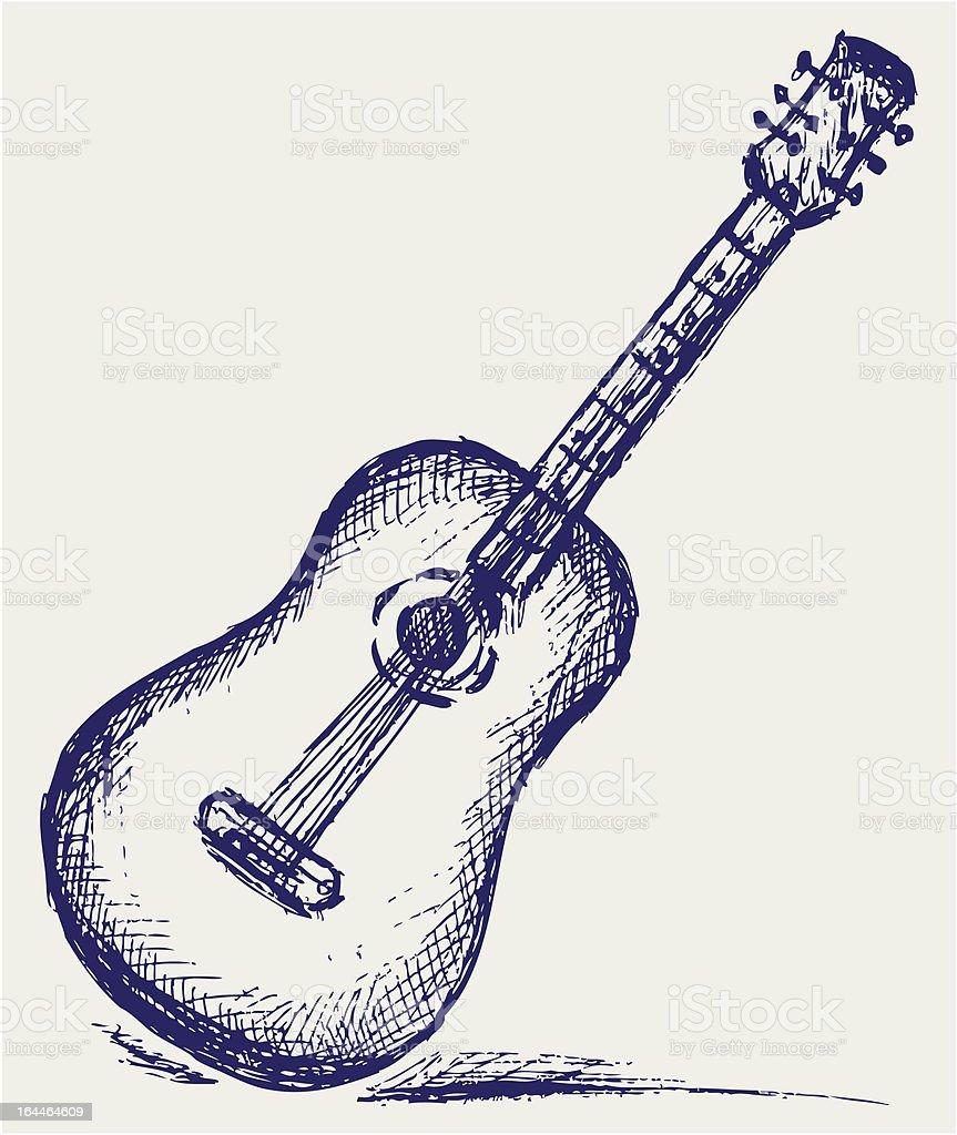 Ilustración de Guitarra Clásica y más banco de imágenes de Abstracto ...