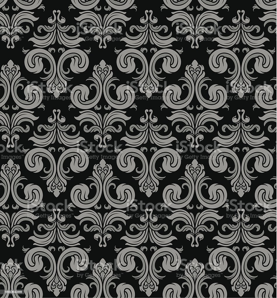 Classy seamless wallpaper background royalty-free stock vector art