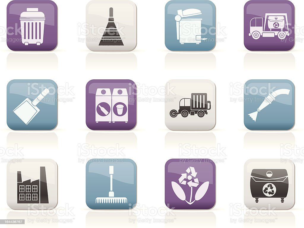 Cleaning Industry and environment Icons royalty-free cleaning industry and environment icons stock vector art & more images of abstract