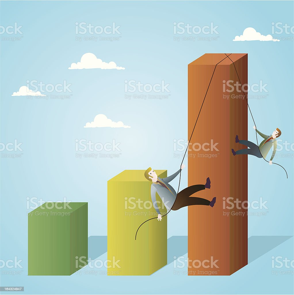 Climb royalty-free climb stock vector art & more images of achievement
