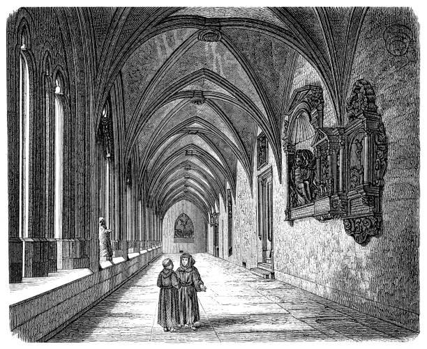 Gothic art stock illustrations
