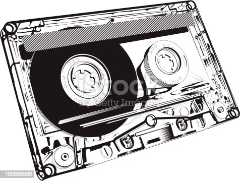 istock Close-up of an audio tape 165693596