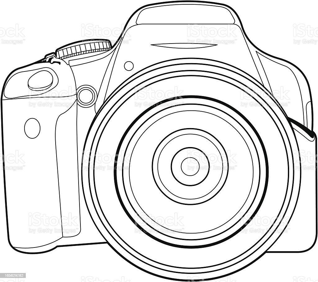 zbli enie cyfrowy slr aparat fotograficzny stockowe grafiki wektorowe i wi cej obraz w aparat. Black Bedroom Furniture Sets. Home Design Ideas