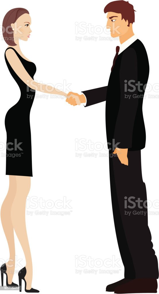 Closing a deal royalty-free closing a deal stock vector art & more images of agreement