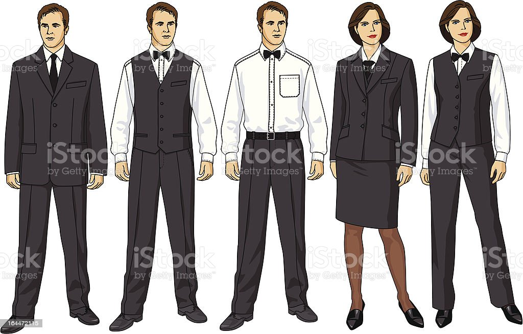 Clothes for waiters royalty-free clothes for waiters stock vector art & more images of adult