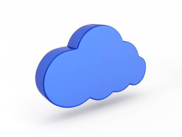 bildbanksillustrationer, clip art samt tecknat material och ikoner med cloud tecken illustration i blå isolerade på vit bakgrund 3d - wate icons