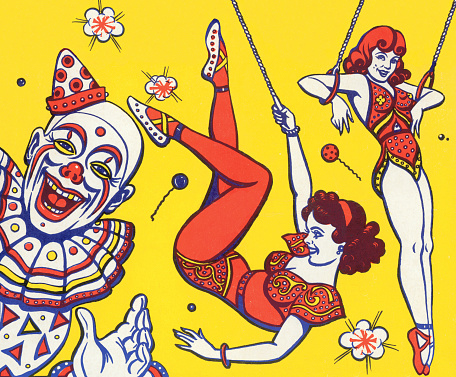 Clown and Trapeze Artists