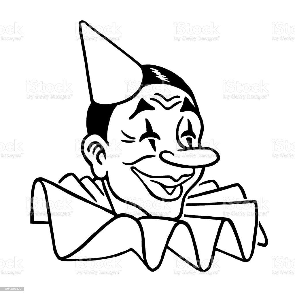 Clown royalty-free stock vector art