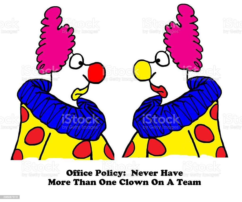 Clown On Team royalty-free clown on team stock vector art & more images of cartoon