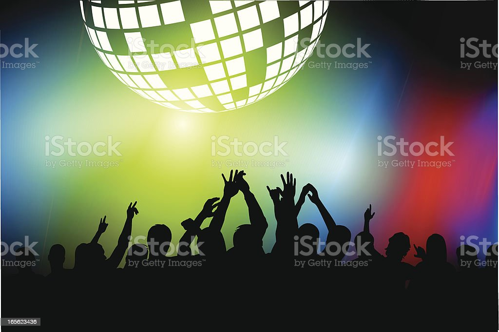 Clubbing royalty-free stock vector art
