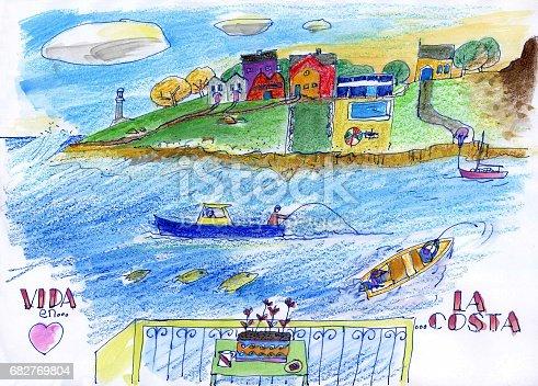 istock Coastline lifestyle 682769804