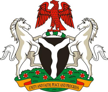 Coat of arms of Nigeria.