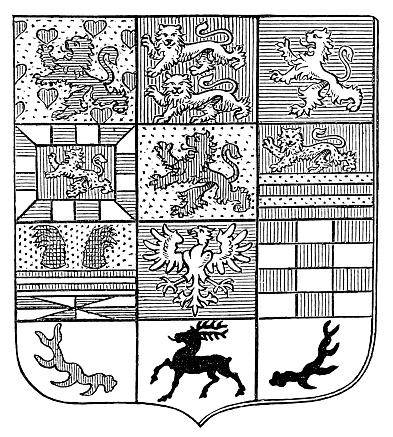Coat of arms of the Duke of Brunswick