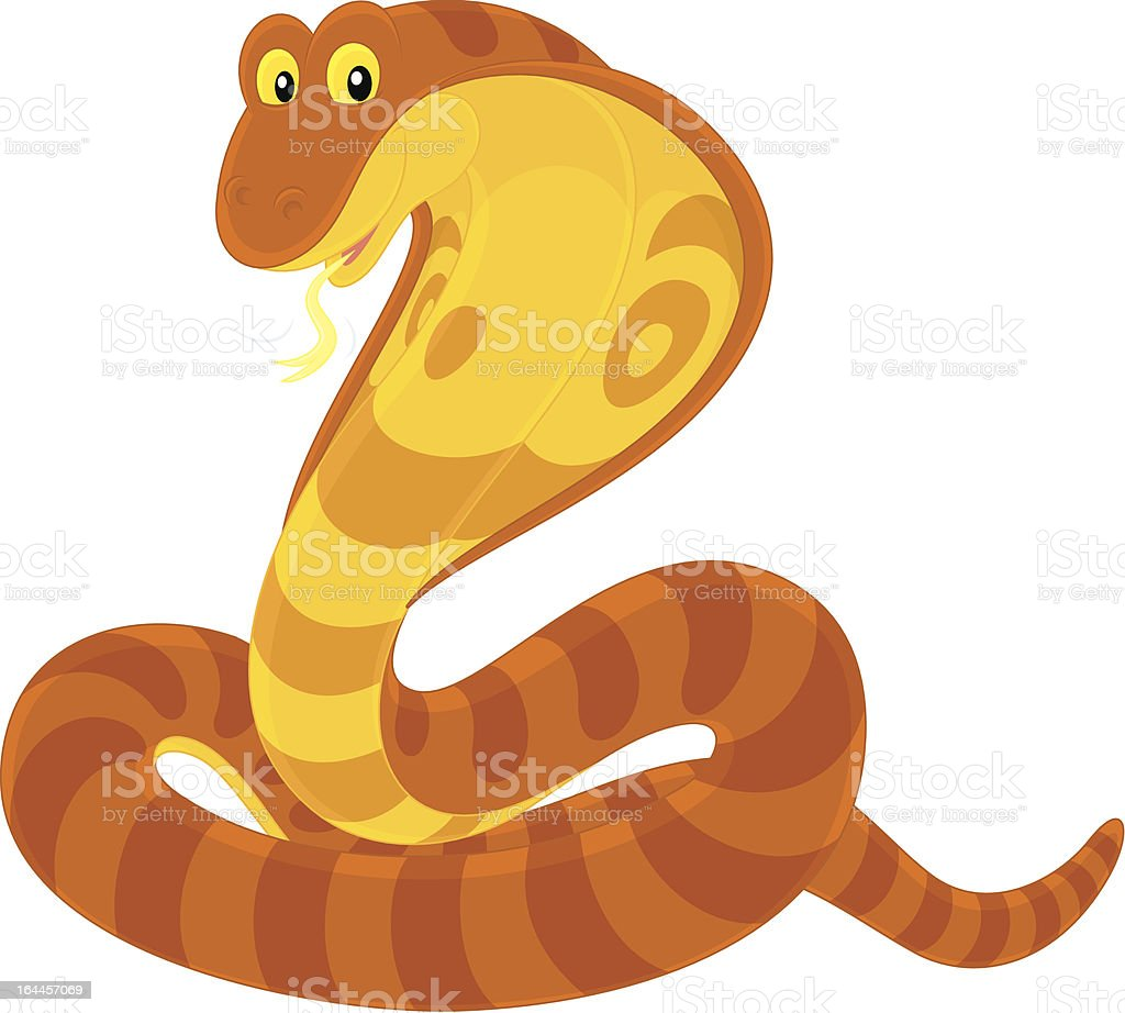 Cobra royalty-free stock vector art