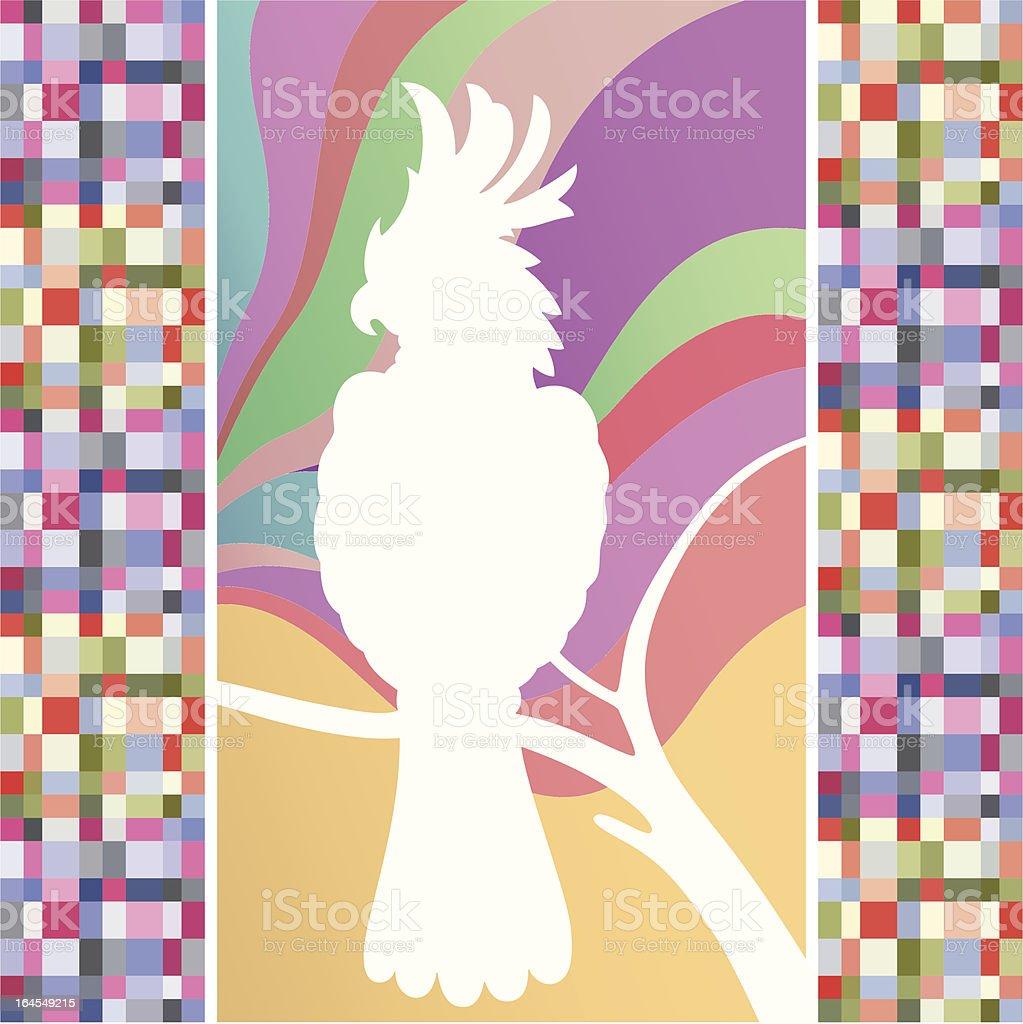 Cockatoo (vector) vector art illustration